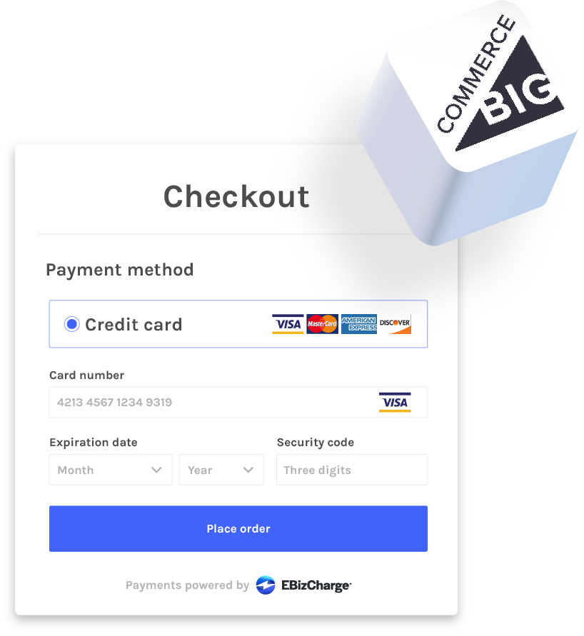 payment gateway for bigcommerce
