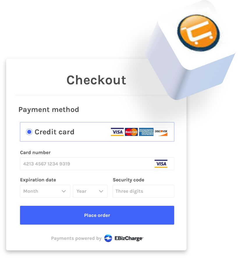 payment gateway for cart manager