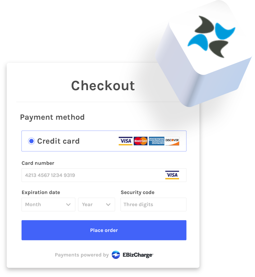 credit card processing for dynamicweb