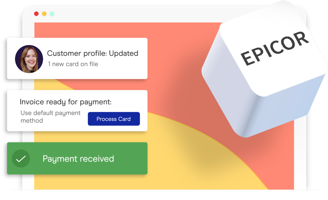 accepting credit cards in epicor