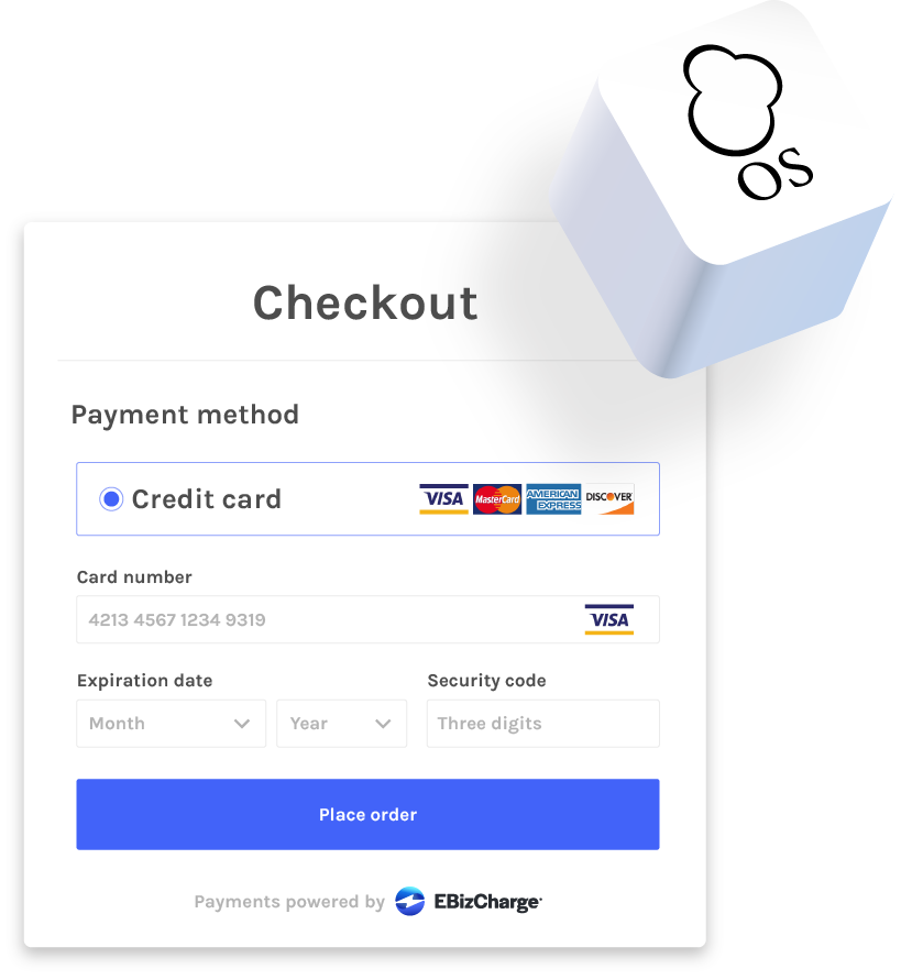 accepting credit cards in osccommerce