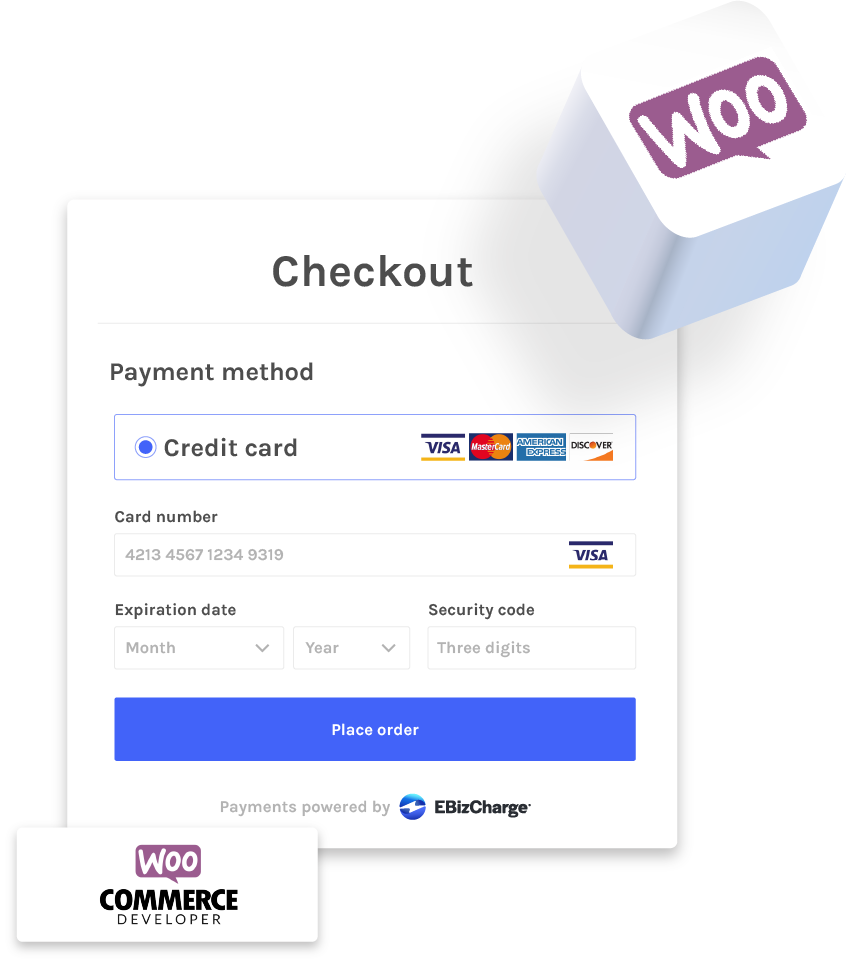 accepting credit cards with woocommerce