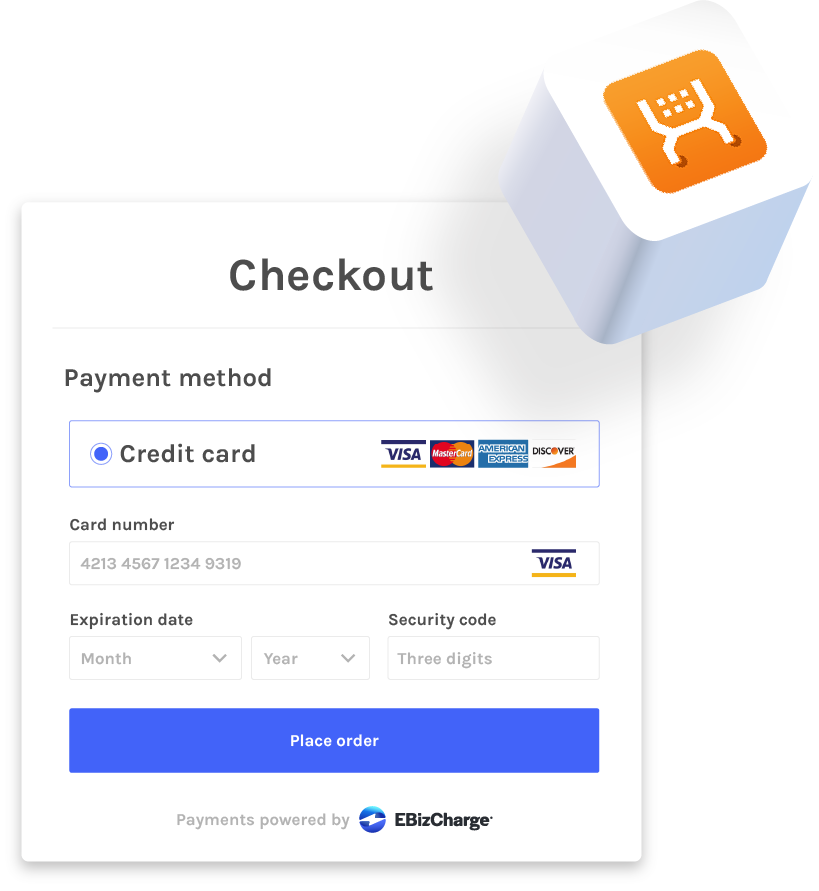 accepting credit cards in x-cart