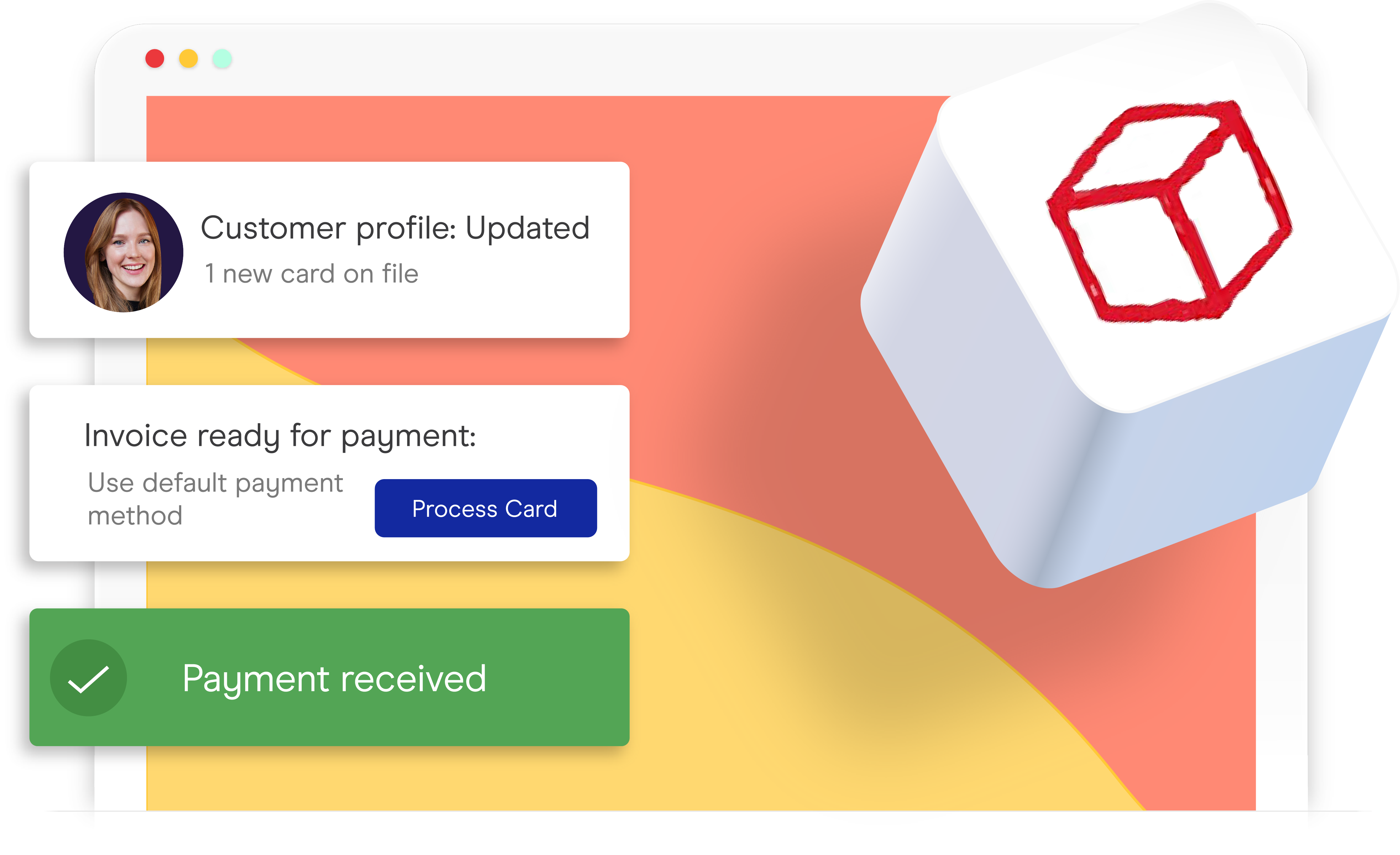 OmegaCube payment integration