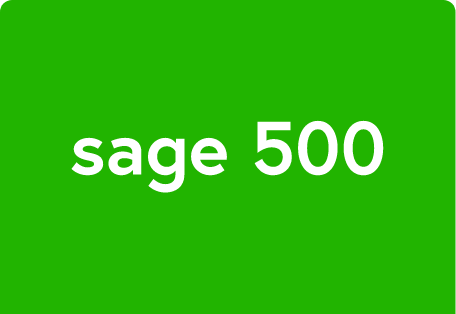 sage 500 payment processing