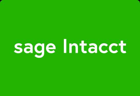 sage intacct payment processing