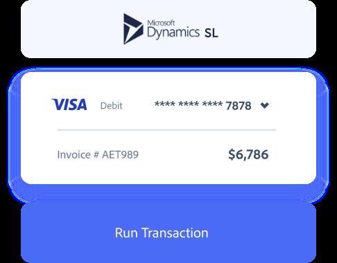 Dynamics SL payment processing