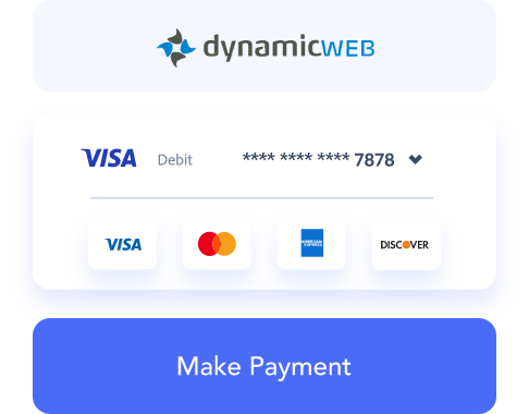 dynamicweb payment processing