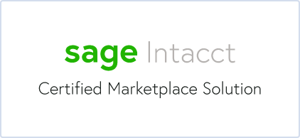 Sage Intacct Certified Marketplace Solution