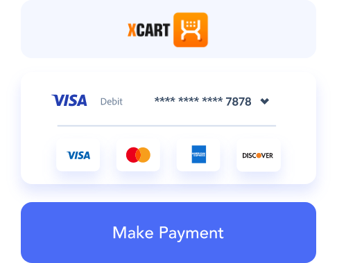 x-cart payment processing