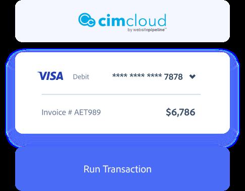 CimCloud payment processing