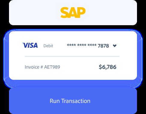 SAP payment processing